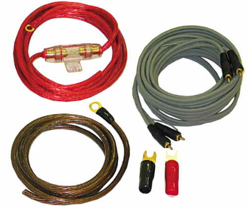 ACR HKAB-80 - Kabelset Power + Cinch 10mm