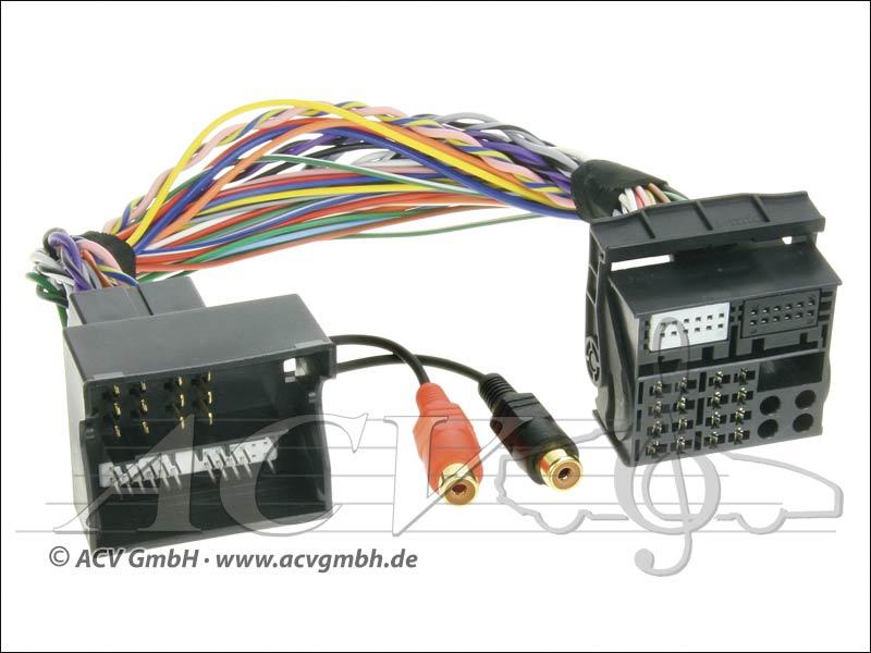 ACV 44VFOX002 Ford Relie 2 adaptateur AUX