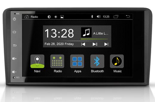 RADICAL R-C11AD1 Audi A3 2 DIN Autoradio Infotainment Android 9.0