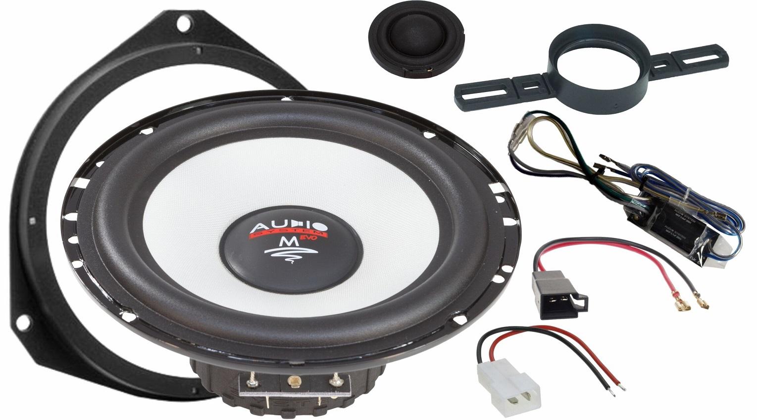 Audio System M 165 DUCATO EVO 2 FIAT DUCATO 2-Wege 16,5cm M-SERIES 2-Wege Spezial System
