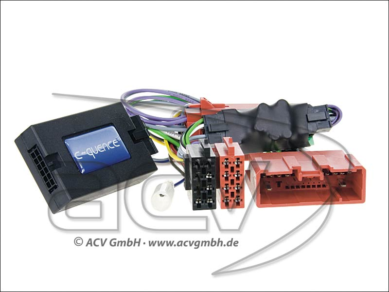 42-MZ-505 Wheel Adapter Mazda 3/MX-5 09-amplified-> Blaupunkt