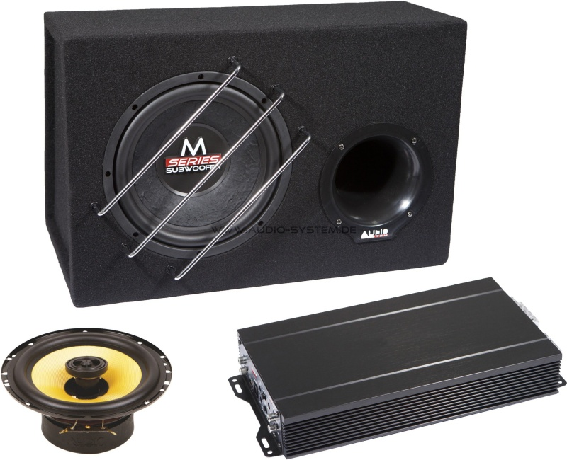 AUDIO SYSTEM CO-SERIES Set Komplett-Set mit MX 165