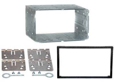 RTA 002.010-0 Double DIN universal plate frame