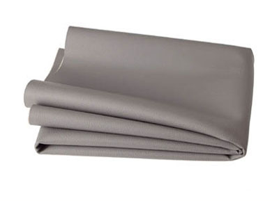 RTA 252.950-0 PVC finta pelle, colore: grigio chiaro - larghezza: 1,37 / 1,40 m - Lunghezza: 70 cm
