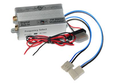 RTA 007.271-0 AUX IN - fréquence FM numérique convertisseur