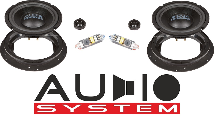 Audio System X 200 T5 X-Series 2-Wege Spezial Front System für VW Bus, T5,Touran