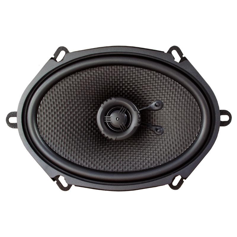 """AMPIRE CP570 Koaxial-Lautsprecher ohne Gitter, 5""""x 7"""" Speaker 1 Paar (2 Stück)"""