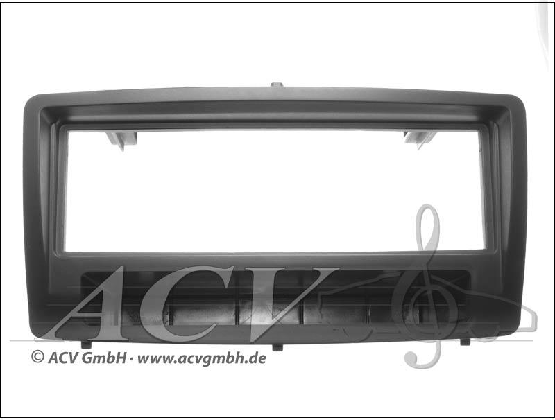 Caoutchouc Radioblende Touch Toyota Corolla Black