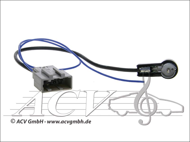ACV 1512-02 adaptateur ISO Nissan antenne