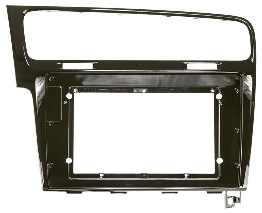 Zenec Z-E1010 Infotainer mit dem Montagerahmen Set Z-F2021 für VW Golf 7