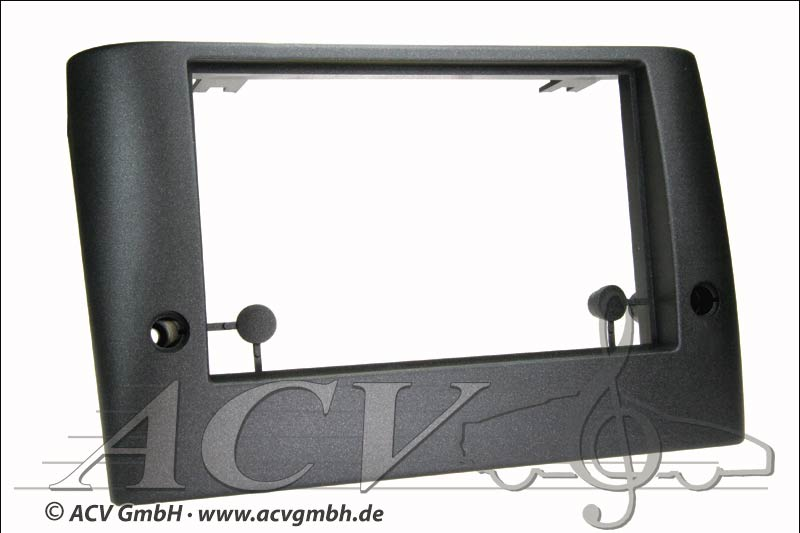 Fiat Stilo Double DIN radio bezel black