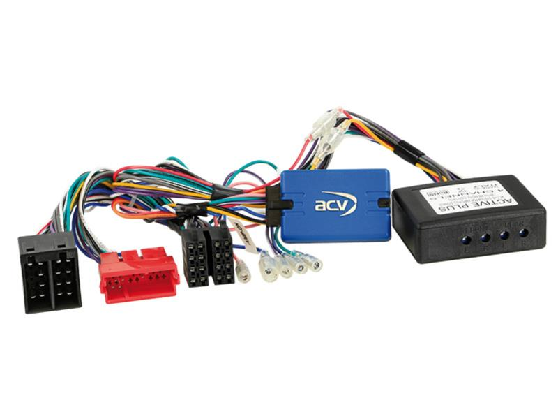 ACV 42-AD-108 SWC Audi A3 / A4 / TT ISO / Active System completo> Alpine