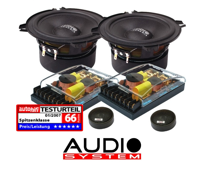 Audio System HX 130 SQ 130 mm, 2-Wege High End Composystem HX130