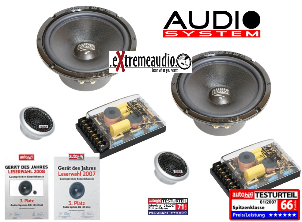Audio System HX 165 Dust MKII 165 mm, 2 way high end COMPO