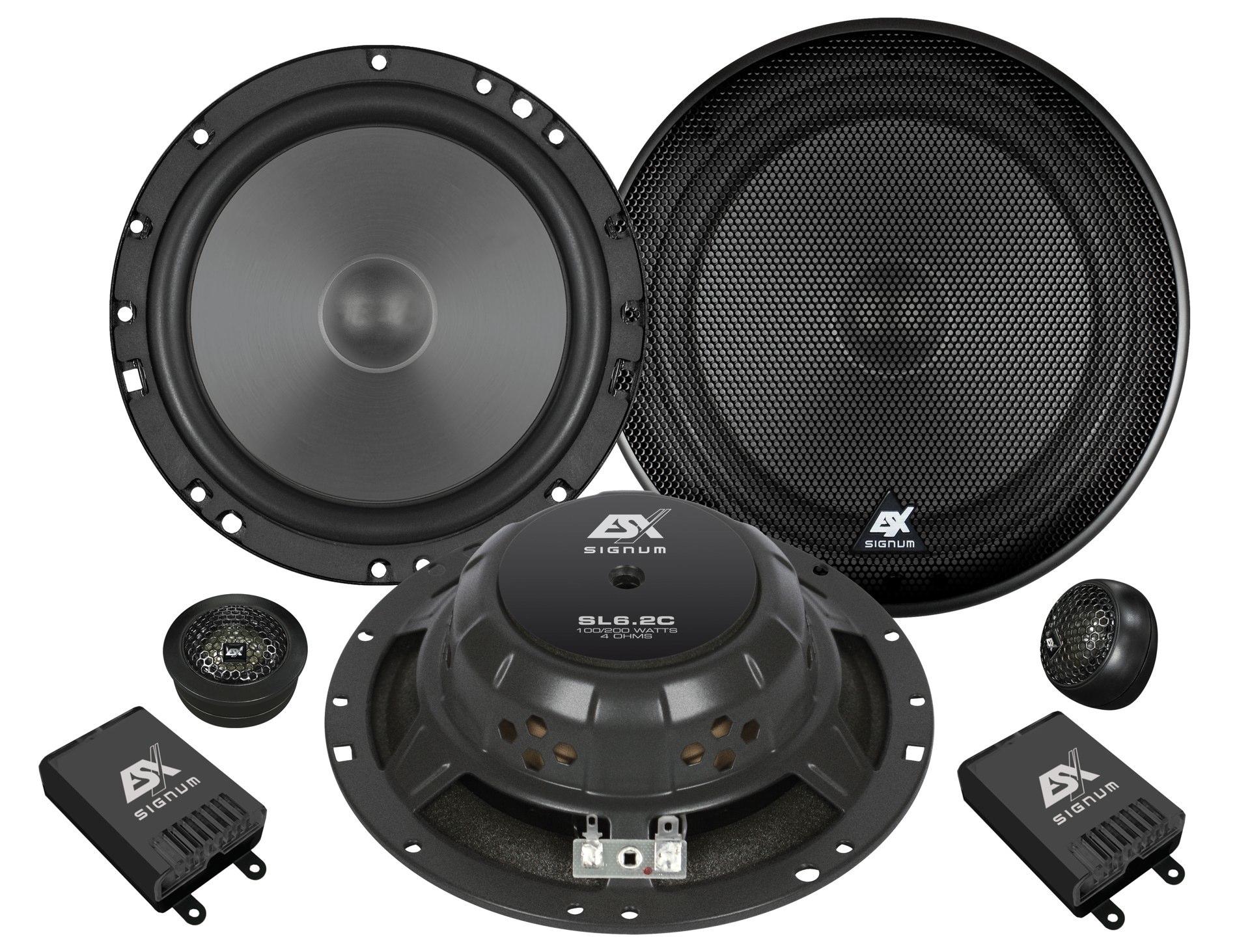 ESX SL6.2C ESX Signum Elite  SL-6.2c  16,5cm  2-Wege System  90/180 Watt