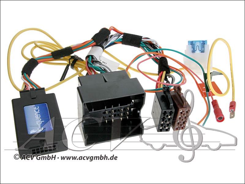 ACV 42-BM-905 CAN-Bus Steering Wheel Adapter BMW / Mini -> JVC