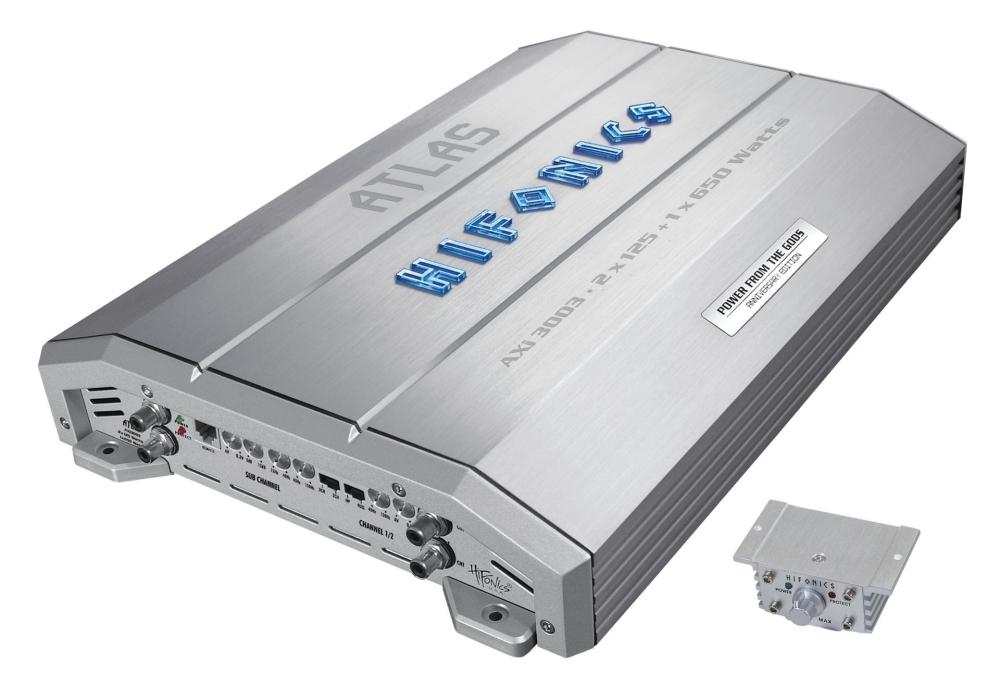 Hifonics AXI-3003 3 canali amplificatore ibrido A3 Atlas Series AXi3003