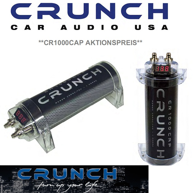 Crunch Power Cap CR1000 Kondensator CR1000CAP