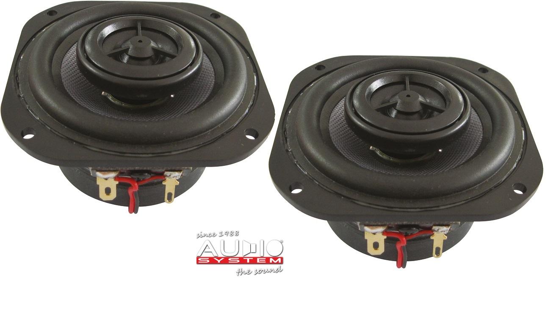 Audio System CO 80 EVO 2 Wege Koax Lautsprecher 80mm 1 Paar